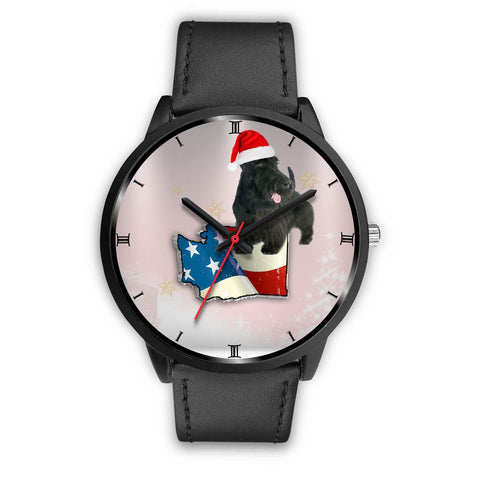 Scottish Terrier Washington Christmas Special Wrist Watch-Free Shipping