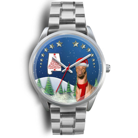 Pharaoh Hound Alabama Christmas Special Wrist Watch-Free Shipping