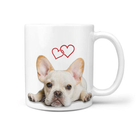 Cute French Bulldog Print 360 Mug