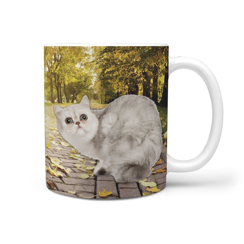 Exotic Shorthair Cat Print 360 Mug