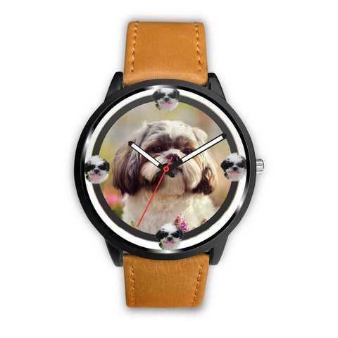 Amazing Shih Tzu Dog Art Print Wrist watch-Free Shipping
