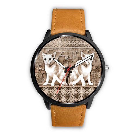 Oriental Shorthair Cat Print Wrist Watch-Free Shipping