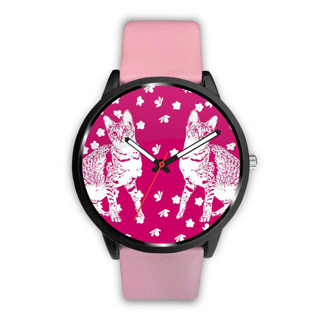 Savannah cat Print Wrist Watch-Free Shipping