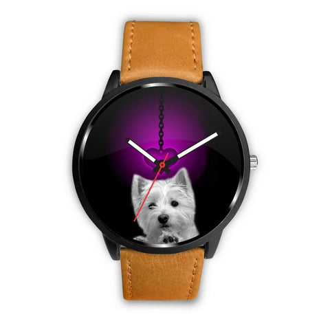 Westie Dog Print Wrist Watch-Free Shipping