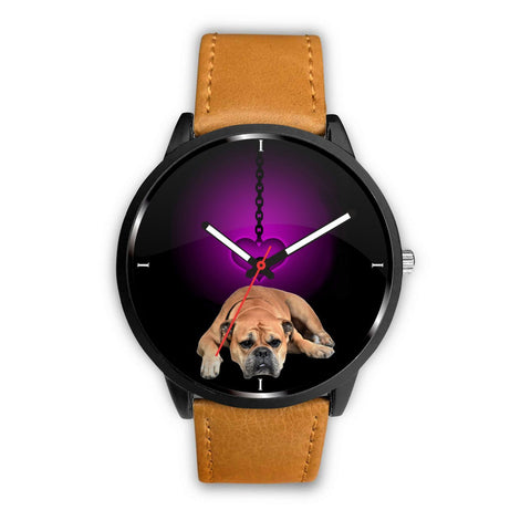 Amazing Bullmastiff Print Wrist Watch-Free Shipping