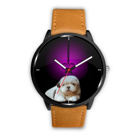 Shih Tzu Dog Print Wrist Watch-Free Shipping
