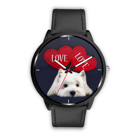 Lovely Westie Print Wrist Watch-Free Shipping