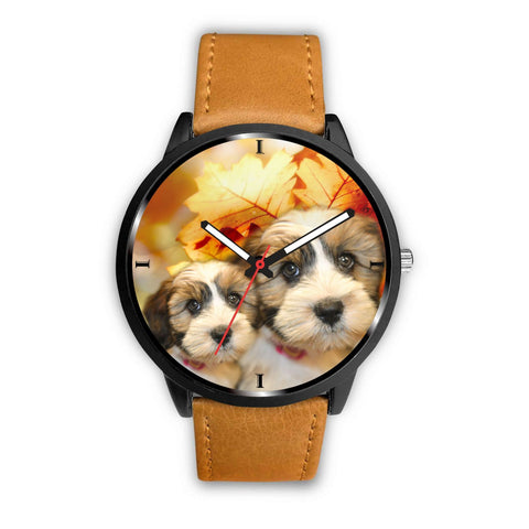 Shih Tzu Print Wrist Watch - Free Shipping