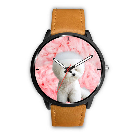 Cute Bichon Frise Print Wrist Watch - Free Shipping