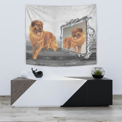 Leonberger Dog Print Tapestry-Free Shipping