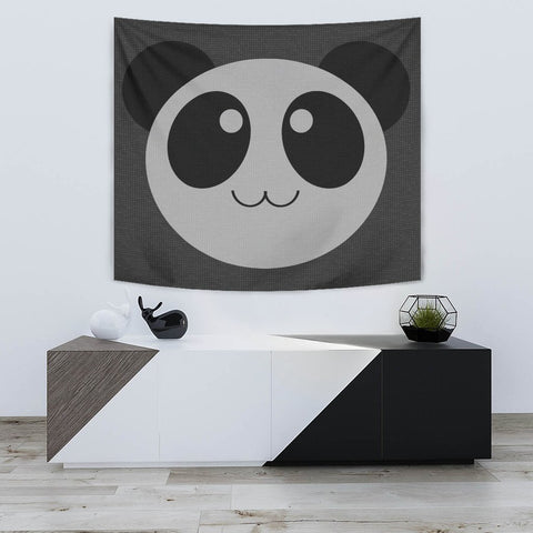 Panda Cartoon Art Print Tapestry-Free Shipping