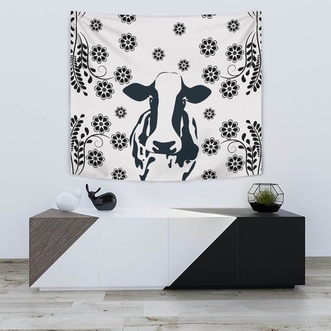 Cow Print Tapestry-Free Shipping
