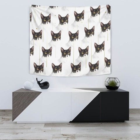 Amazing Cats Patterns Print Tapestry-Free Shipping