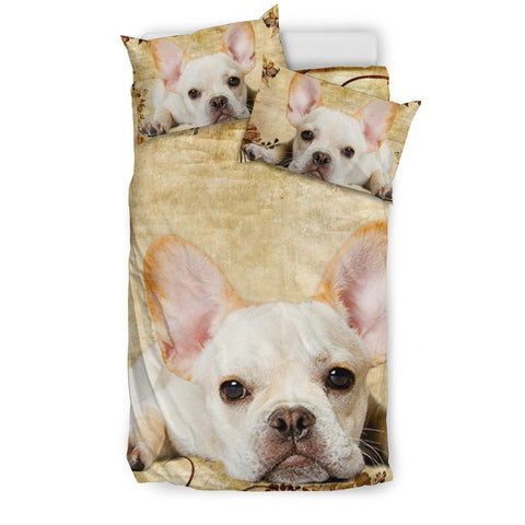 French Bulldog Print Bedding Set- Free Shipping