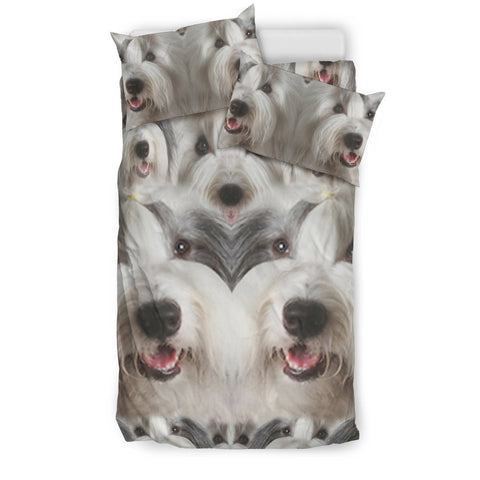 Old English Sheepdog In Lots Print Bedding Sets-Free Shipping