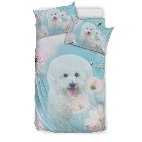Lovely Bichon Frise Dog Print Bedding Sets-Free Shipping
