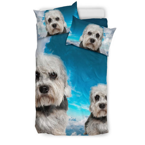 Cute Dandie Dinmont Terrier Print Bedding Set- Free Shipping