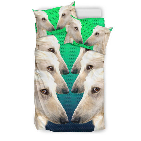 Afghan Hound Dog Art Print Bedding Set-Free Shipping