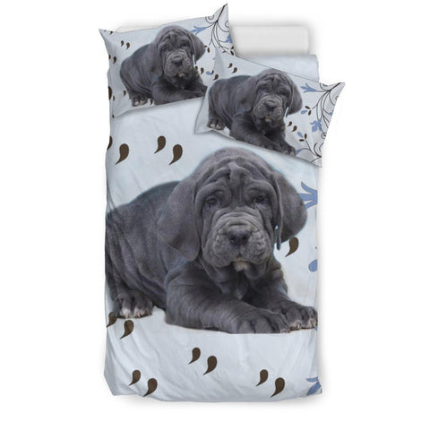 Neapolitan Mastiff Dog Print Bedding Sets-Free Shipping
