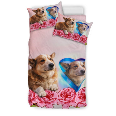 Cardigan Welsh Corgi Heart Print Bedding Sets-Free Shipping
