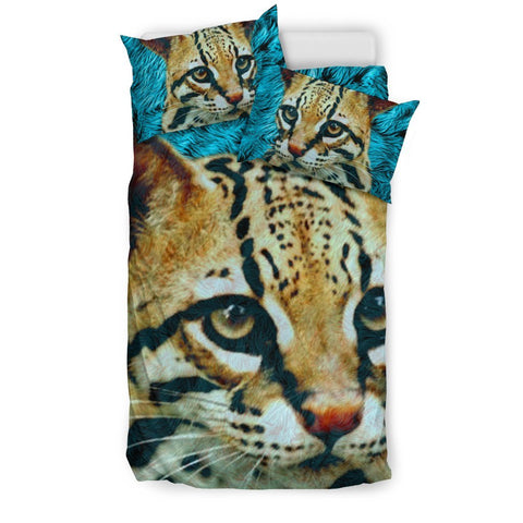 Lovely Cheetoh Cat Print Bedding Set-Free Shipping