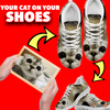 Design Your 'Cat' Design Shoes in 60 Seconds!