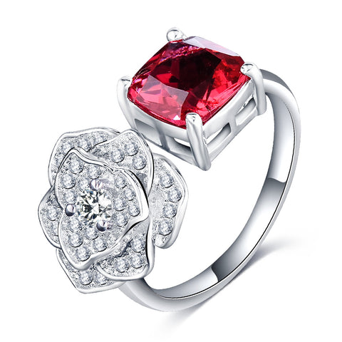 Rose n' Ruby Ring