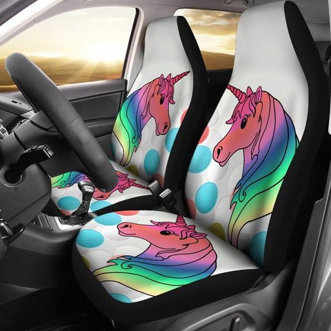 Unicorn Print Car Seat Covers-Free Shipping