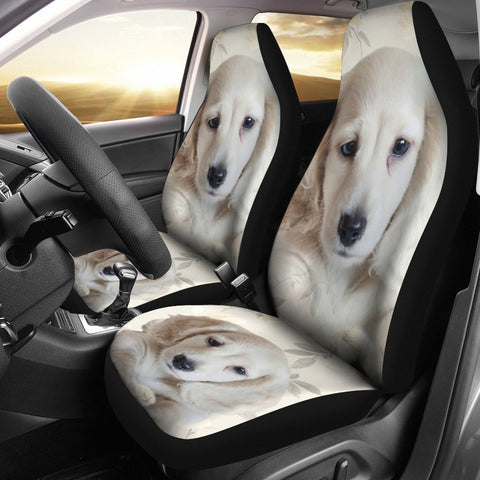 Cute Dachshund Print Car Seat Covers- Free Shipping