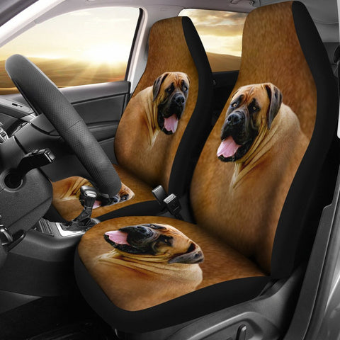 South African Boerboel Dog Print Car Seat Covers-Free Shipping
