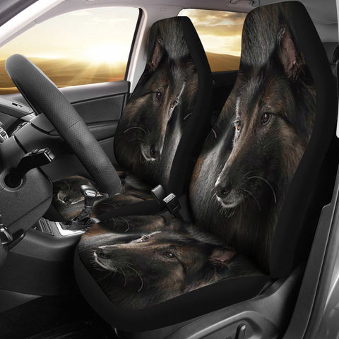 Belgian Tervuren Dog Print Car Seat Covers-Free Shipping