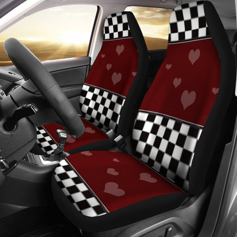 Heart Print Car Seat Covers-Free Shipping