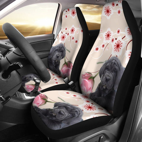 Neapolitan Mastiff Dog Print Car Seat Covers-Free Shipping