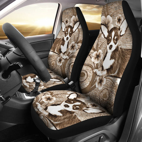 Cute Chihuahua Dog Print Car Seat Covers-Free Shipping