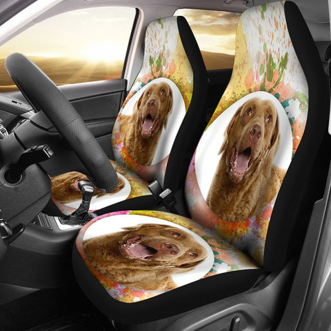 Amazing Chesapeake Bay Retriever dog Print Car Seat Covers-Free Shipping