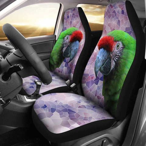 Military Macaw Print Car Seat Covers-Free Shipping