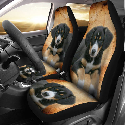 Entlebucher Mountain Dog Print Car Seat Covers-Free Shipping