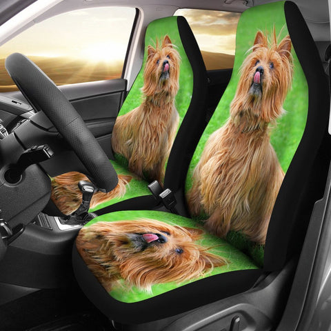 Cute Australian Terrier Dog  Print Car Seat Covers-Free Shipping