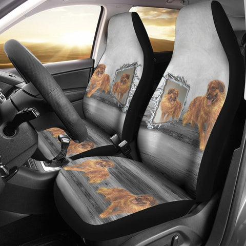 Amazing Leonberger dog Print Car Seat Covers-Free Shipping