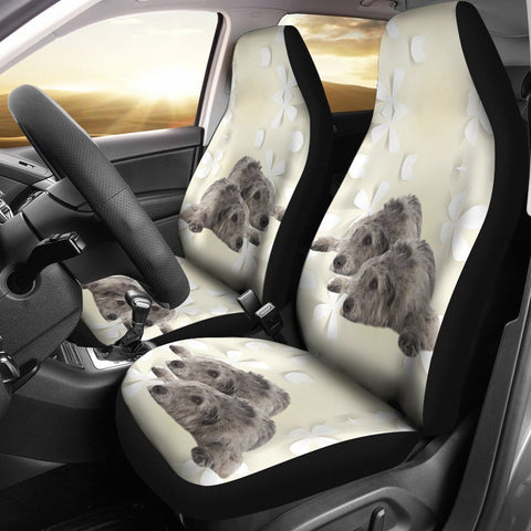 Amazing Irish Wolfhound Dog Print Car Seat Covers-Free Shipping