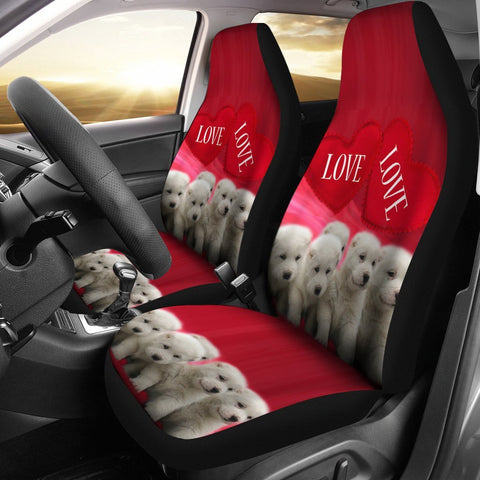 Central Asian Shepherd Dog Print Car Seat Covers-Free Shipping