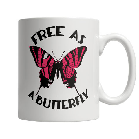 Free As A Butterfly