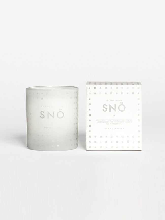 SCENTED CANDLE - SNO