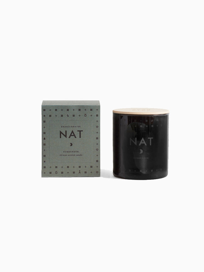 SCENTED CANDLE - NAT