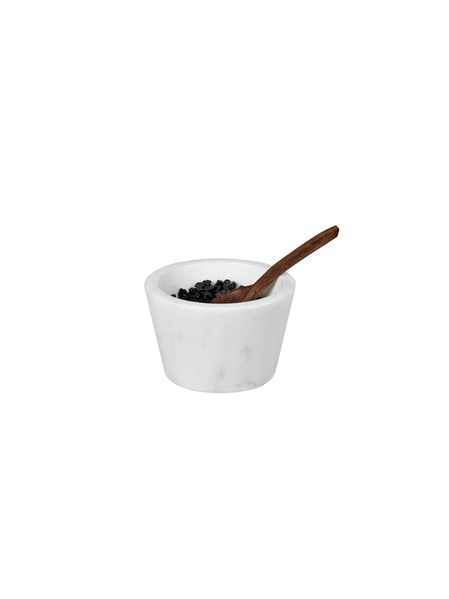 MARBLE BOWL W/SPOON