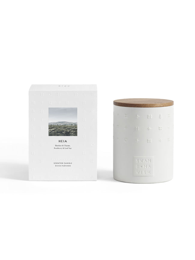 LUXE SCENTED CANDLE- HEIA