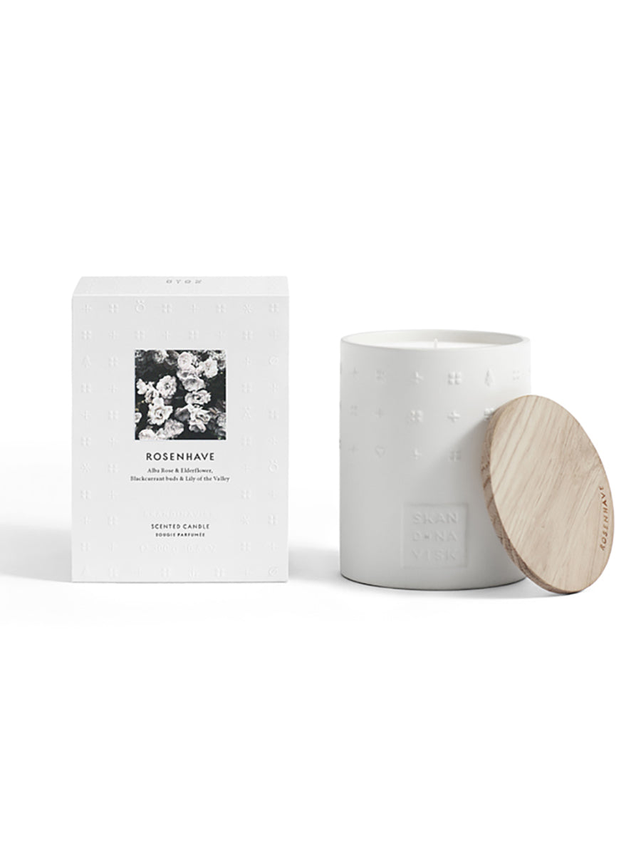 LUXE SCENTED CANDLE - ROSENHAVE