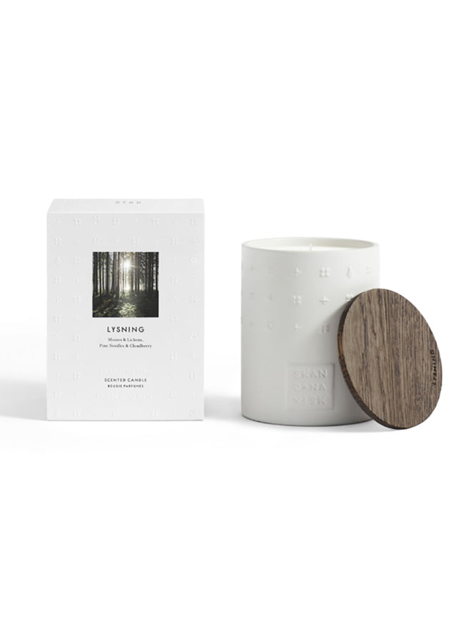 LUXE SCENTED CANDLE- LYSNING