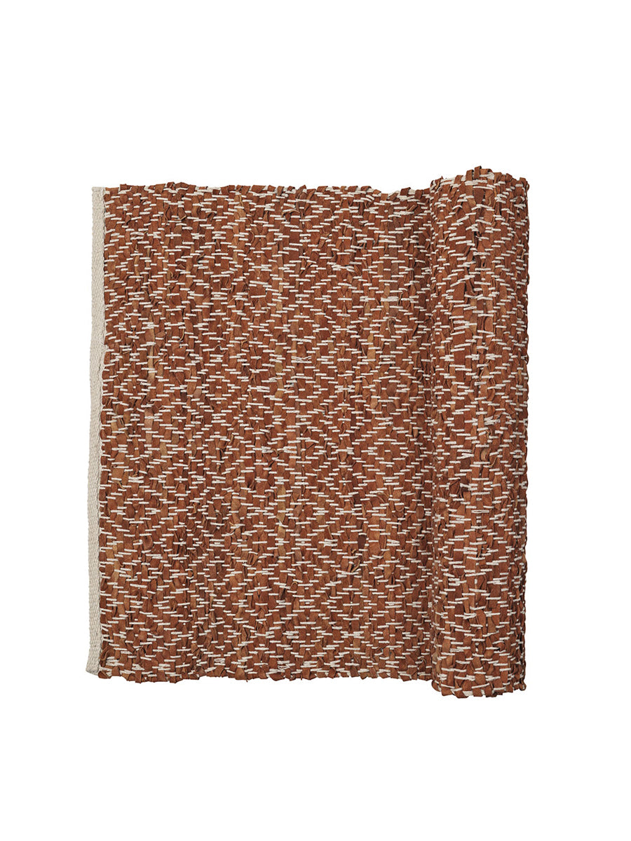 KAMMA RUG - RUSTIC BROWN