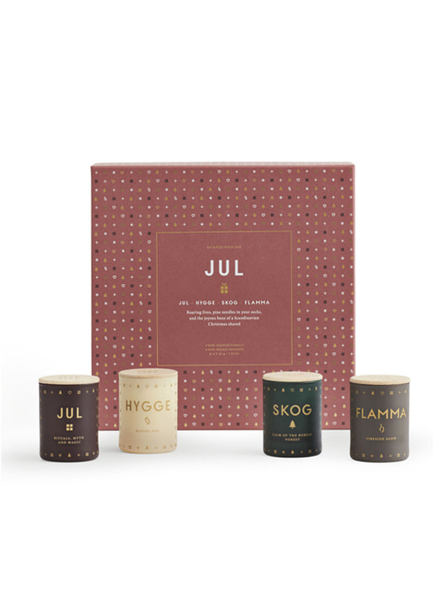 GIFT SET / QUAD OF CANDLES - JUL